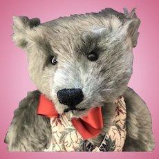 """Steiff Limited Edition Harrods """"Victorian Musical Bear"""" Mohair Teddy Bear"""