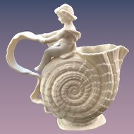 "The Walter Scott Lenox Vase ""Cupid On Nautilus"""
