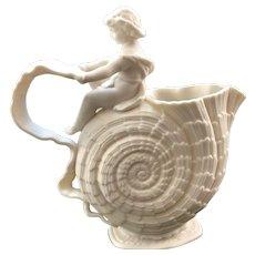 "The Walter Scott Lenox Vase ""Cupid On Nautilus"""