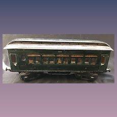 "Maerklin Marklin Train circa 1920 Passenger Car ""1894 Nichtraucher/Raucher"" 1 guage"