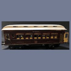 Marklin Maerklin I Guage Teak Mitropa Schlafwagon Speiswagon Train Dining Car Pre-War