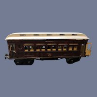 Marklin Maerklin I Guage Teak Mitropa Schlafwagon Speiswagon Train Dining Car Pre-War