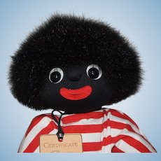 "Limited Edition ""Bopsie"" Golliwog Cloth Doll"