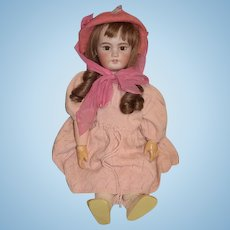 """Antique Doll Gorgeous DEP French Bisque Doll Big Girl 27"""" Tall Dressed!!"""