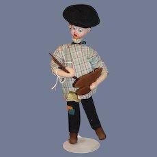 Roldan Klumpe Artist Painter Doll