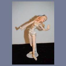 Roldan Klumpe Posed Ballerina Doll