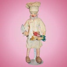 Roldan Klumpe Cook Doll