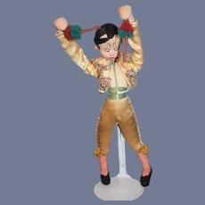 Roldan Klumpe Gold Matador Figure