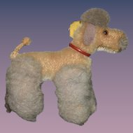 Old Steiff Poodle Dog