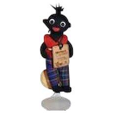 Artist Doll Black Golliwog Golly -wog Copknot Limited Edition Robin Rive