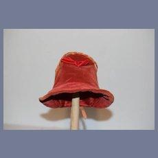 Old Doll Bonnet Hat Velvet Sweet