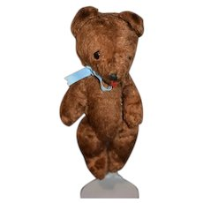 Vintage Little Brown Bear Jointed Doll Friend