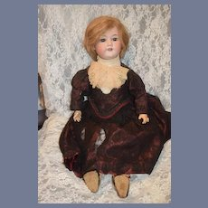 """Antique Doll Armand Marseille 390 Fab Clothes and Shoes 27"""" tall"""