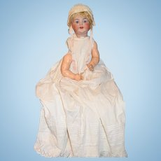 Antique Bisque Doll Kammer & Reinhardt 126 Character baby Adorable Wobbly Tongue