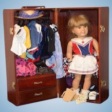 Vintage American Girl Pleasant Company Doll & Wardrobe FILLED w/ Clothes Shoes Accessories