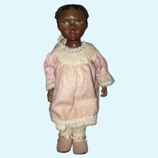 Wonderful Black Artist Doll Sarah Sorci Porcelain Character Little Girl