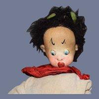 Roldan Klumpe Roman Dressed Doll playing Lyre