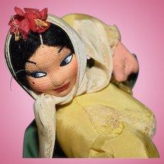 Vintage Klumpe Type Dancing Figure Doll