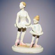 Vintage Miniature Ballerina Dancers Figurine Olszewski Goebel Dollhouse Bronze