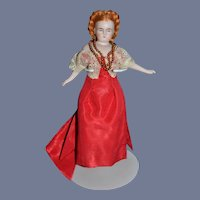Artist Doll Miniature Dollhouse Fancy Clothes