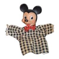 Vintage Mickey Mouse Puppet Walt Disney Doll