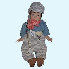 Artist Doll Lee Middleton Twin Dolls Twins Bubba Chubbs Railroad