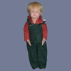 Antique Doll Schoenhut Wood Carved Walking Schoenhut Character