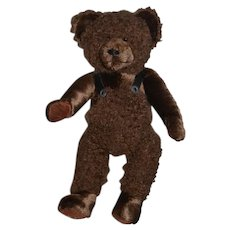 Hildegard Gunzel Teddy Bear Artist Made Sweet Brown Bear Jointed