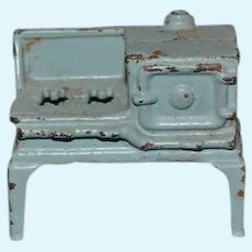 Old Cast Iron Stove Miniature Dollhouse Kilgore