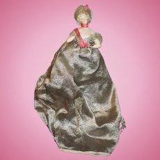 Old Doll Half Doll China Head Fancy