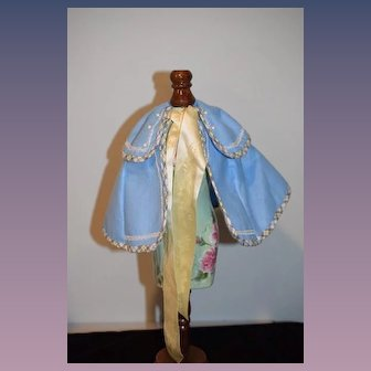 Wonderful Doll Cape and Hat Madame Alexander The Little Women Journals Beth's Winter Coat