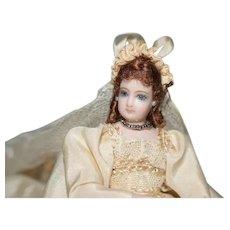 Wonderful Artist Doll Bride Carolyn Palmer Miniature Dollhouse