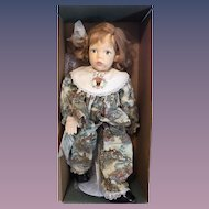 Sweet Artist Doll Felt Doll IN Original Box Cloth Doll JODY Numbered Debbie Richmond Jody