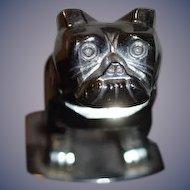 Vintage Mack Bulldog Hood Ornament Chrome Dog