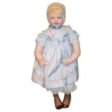 Sweet Artist Doll Porcelain With Porcelain Lace Bonnet Sweet Gwen Koss