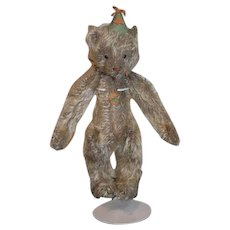 Artist Teddy Bear Jointed Signed Mohair Small Jester