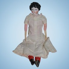 Antique Doll China Head Pink Tint Kling