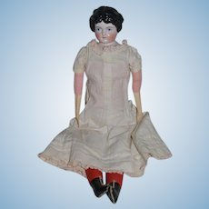 Antique Doll China Head Pink Tint Kling