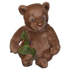 Wonderful R. John Wright Doll Tickles Teddy Bear Jointed