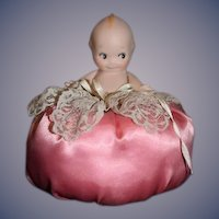 Artist Doll Kewpie Pincushion Pin Cushion Miniature