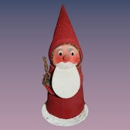 Old Santa Doll Candy Container Papier Mache
