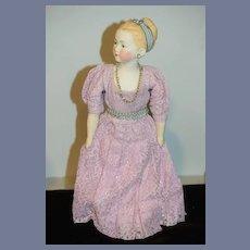 Vintage Doll Artist Doll Signed La Motte 1959 Young Girl Porcelain Gorgeous
