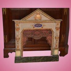 Antique Doll Miniature Opera Stage Dollhouse WONDERFUL Wood Ornate