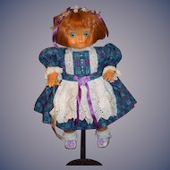 Artist Doll Wood Dolly Dingle Goebel W/ Tag Adorable Signed Numbered