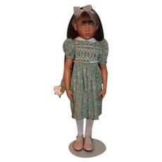 "Artist Doll Helen Kish High Prairie Rose Rachel In Original Box w/ COA 15"" Jointed"