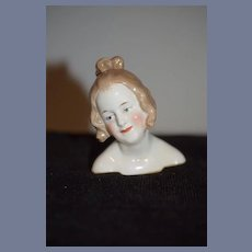 Artist Doll Head China Gorgeous Face Signed