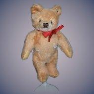 Vintage Teddy Bear Doll Size Steiff Mohair Jointed