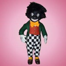 R. John Wright Artist Doll Golliwog Black Cloth Doll W/ Tag