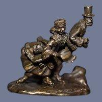 Olszewski Miniature Figurine CENTRAL PARK SUNDAY Dollhouse In Original Box Retired