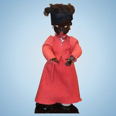 Wonderful French Character Doll Urika Black Doll Charming